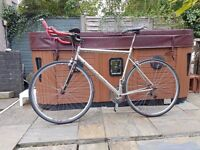 Airborne Zeppelin Titanium Road Tri Bike, Ironman, nice and fast, retro