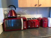 Red kitchen package