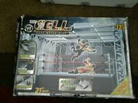 Wwe wwf cell cage. Hell in a cell..