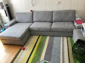 IKEA KIVIK sofa set+ 2 full sets of cover
