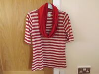 Next T-Shirt with Scarf Size 12