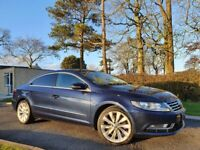 Sep 2012 Volkswagen CC 2.0 TDI BlueMotion Tech GT 4dr HEATED LEATHER SEATS, E.D.C. FSH, SAT NAV