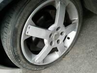 Vauxhall vx220 alloy wheels