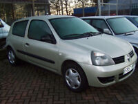 IDEAL FIRST CAR LATE 2007RENAULT CLIO LOW MILAGE NEW MOT LOVELY CONDITION ONLY £1150