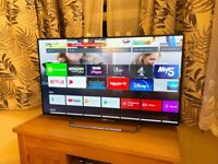 """SONY 43"""" 4K ULTRA HD SMART ANDROID TV,EXCELLENT CONDITION,FULLY WORKING £270 NO OFFERS CAN DELIVER"""