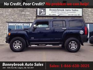 2007 Hummer H3 Base leather heated seats dvd player