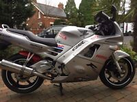 1997 HONDA CBR600FS SILVER FULL MOT ,EXTRAS ,NEW FRONT TYRE ETC ONLY £1199 AT KICKSTART BELFAST
