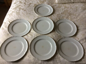 Marks and Spencer Stamford China Dinner Plates x 7