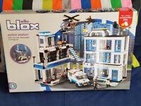 Blox Police Station (lego-like toy)