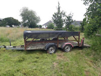 Tipper Trailer with tail ramp