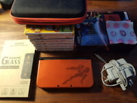 New Nintendo 3ds XL in an excellent condition. Big bundle