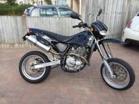 CCM R30 650cc SuperMoto motorbike 2004