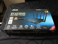 ASUS RT-AC3200 1750 Mbps Gigabit Wireless AC Router