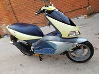 Aprilia area 51 50cc 7000 miles scooter moped