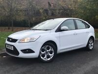 2011 white Ford Focus 1.6 TDCi DPF Sport 5dr Hatchback Manual Diesel - P/X Welcome