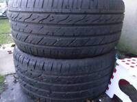 OFFERS! 245 40 18 LANDSAIL TYRES X2