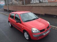 2005 (54) Renault Clio Authentique 1.2 Petrol 5dr (Full-Service History) Timing Belt kit Changed