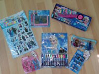 frozen job lot sticker colour pen pencil book stamp toy party gift kids