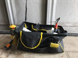 TOOL BAG WITH VARIOUS TOOLS MUST GO TODAY!!! Paint and decorator DIY