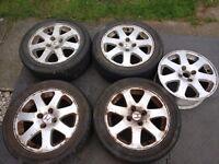 Honda Civic EM1 Wheels OEM Full set inc Tyres and Spare 4x100