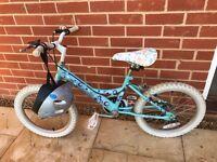 Girl's Bike Raleigh Sunbeam Dottie