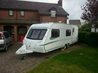 Abbey Aventura 340 6-berth twin axle 2006 caravan + twin motor mover + lots of extras
