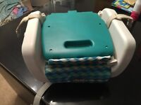 Chicco booster seat.