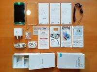 SAMSUNG GALAXY S6 Like New 12M Warranty SIM Free + Clear Case, Screen/Reverse Protectors, Hand Strap