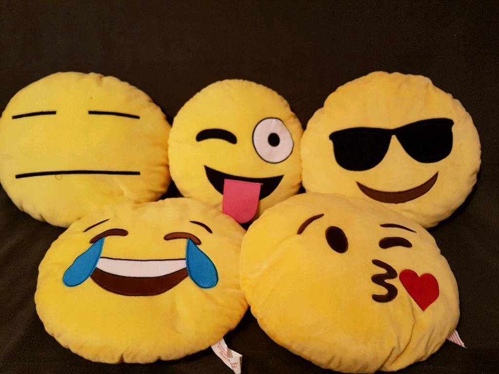 5 Emoji Cushions In Sunderland Tyne And Wear Gumtree