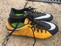 Nike hypervenom yellow/black