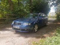 AUDI A4 AVANT TDI DIESEL SPORT 130BHP AUTOMATIC DSG BLUE ESTATE