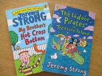 2 x Jeremy Strong childrens books