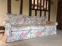 Settee 3 seater, 2 seater and chair - high quality Paul Hitchings Ltd - available individually