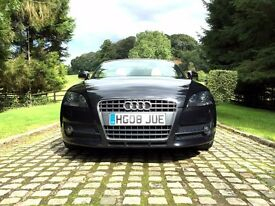 Handsome and Well Equipped Audi TT Roadster 2008/TFSI/S-Tronic/Only One Owner!