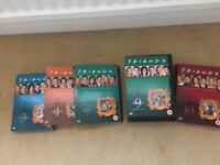 Friends DVDs Full series 3 4 6 9 and 10boxed