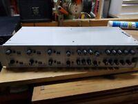 FBT 4 MMZ 8004S 4 channel zone mixer pre amp inc Eq & separate O/P levels 10 I/P