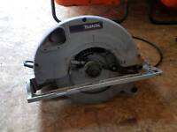 Makita circular saw and planer