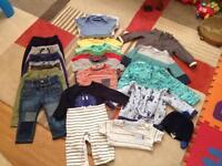 Bundle of cloths 6-9 months