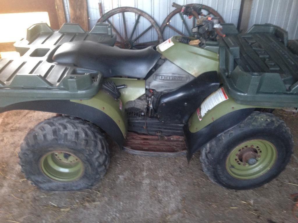 quad polaris diesel 4×4