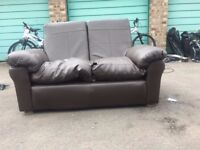 Leather sofa set for sale (Two Sofas)