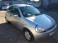 Ford KA Style 1.3i, 2007/07 Reg, MOT'd 29th June 2017 & NO ADVISORIES, 1 Owner, 3 Door Hatch, Silver