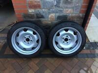 "T5 Transporter 17"" banded steel wheels"