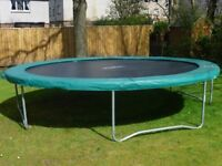 Large garden trampoline- suitable for children of ALL ages!!