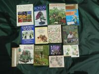 * BOOKS * GARDENING PLANTS FLOWERS