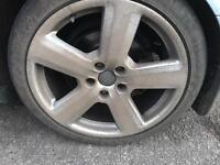 Audi Alloy Wheels will fit a golf