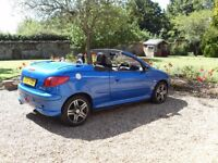 PEUGEOT 206 CC - CONVERTIBLE - MANUAL - 5 MONTHS MOT