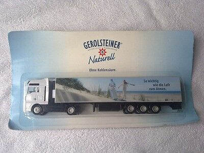Werbetruck Gerolsteiner Mineralwasser Naturell, MAN, Minitruck, Truck, LKW, OVP!