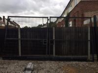 Heavy Duty Anti climb Security Gates