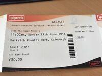2 x Sunday Sessions Scotland Tickets Plus Posh Loo