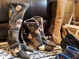 Bundle of shoes size 5